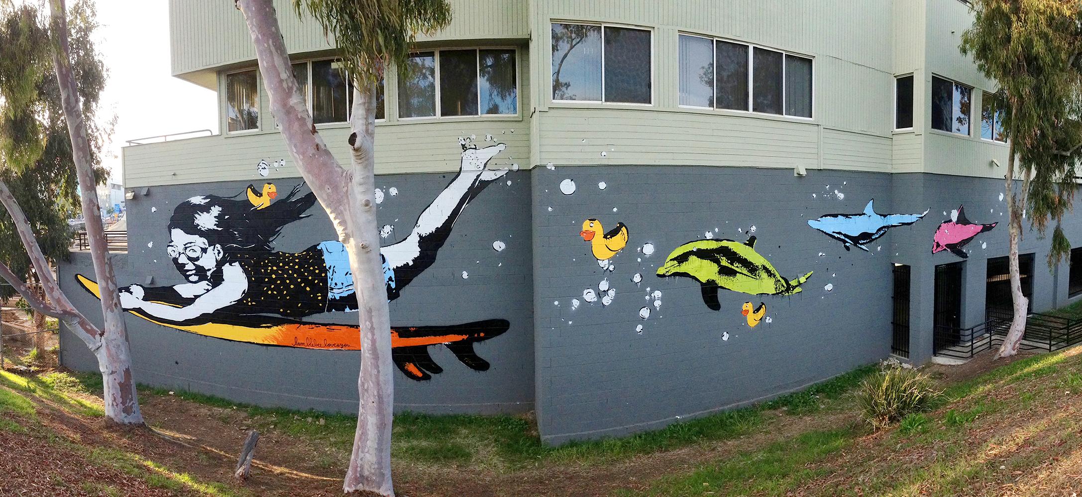 'Duck Dive' Santa Monica, CA 2014 - Bumblebeelovesyou